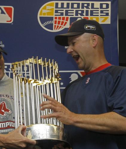 Terry Francona world series winner 2004 & 2007. Per chi l'avesse scordato